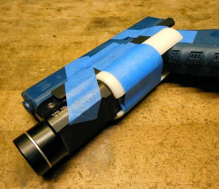 DIY Holster Tips & Tricks: Blocking out Pistol Molds for Weaponlight Holsters