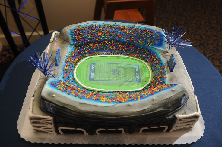 Commonwealth Stadium Groom's Cake | Something Blue ...