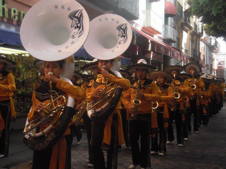Banda de música del Centro Escolar Niños Héroes de Chapultepec
