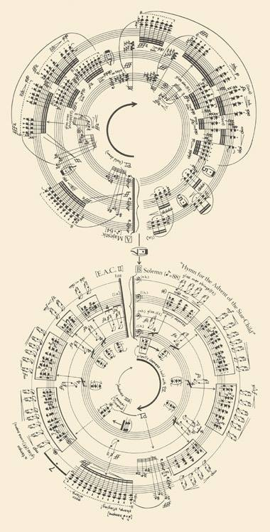 """Sheet Music for George Crumb, """"Makrokosmos"""" But with the Intimate Enemy score"""