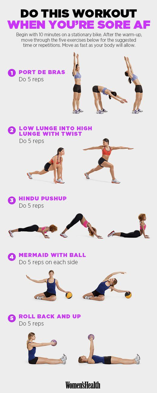 Port de Bras  http://www.womenshealthmag.com/fitness/sore-muscles-workout