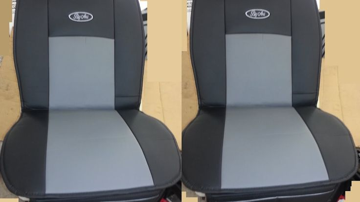 Big Ant Waterproof Universal 2 PCS Seat Protector PU Leather Seats Cover...