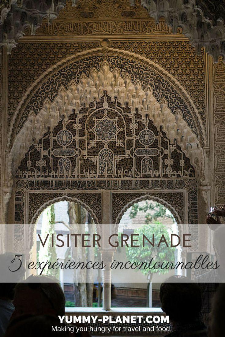Vous avez prévu de voyager en Andalousie ? Découvrez 5 expériences à ne pas manquer lors de votre séjour à Grenade.