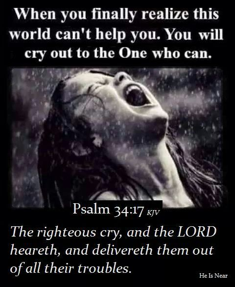 Jesus IS the Rescuer! This World can not Save you. Call Upon JESUS! You can go Straight to the God Over All Heaven and Earth. He is Both Able and Willing to Rescue you!