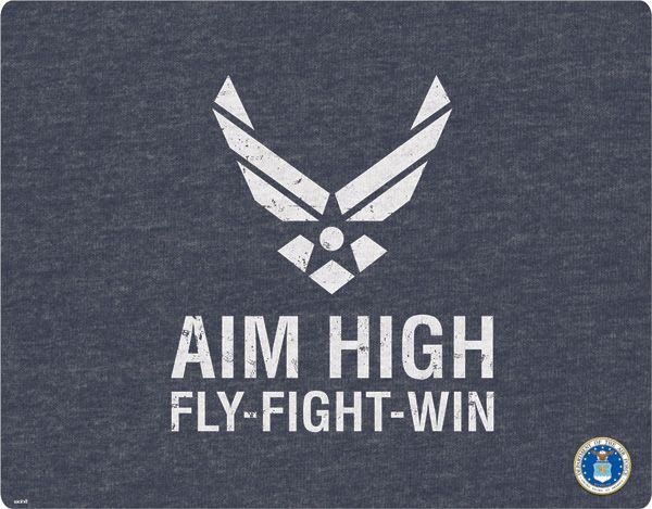 Air Force: Aim High, Fly-Fight-Win - laptop skin