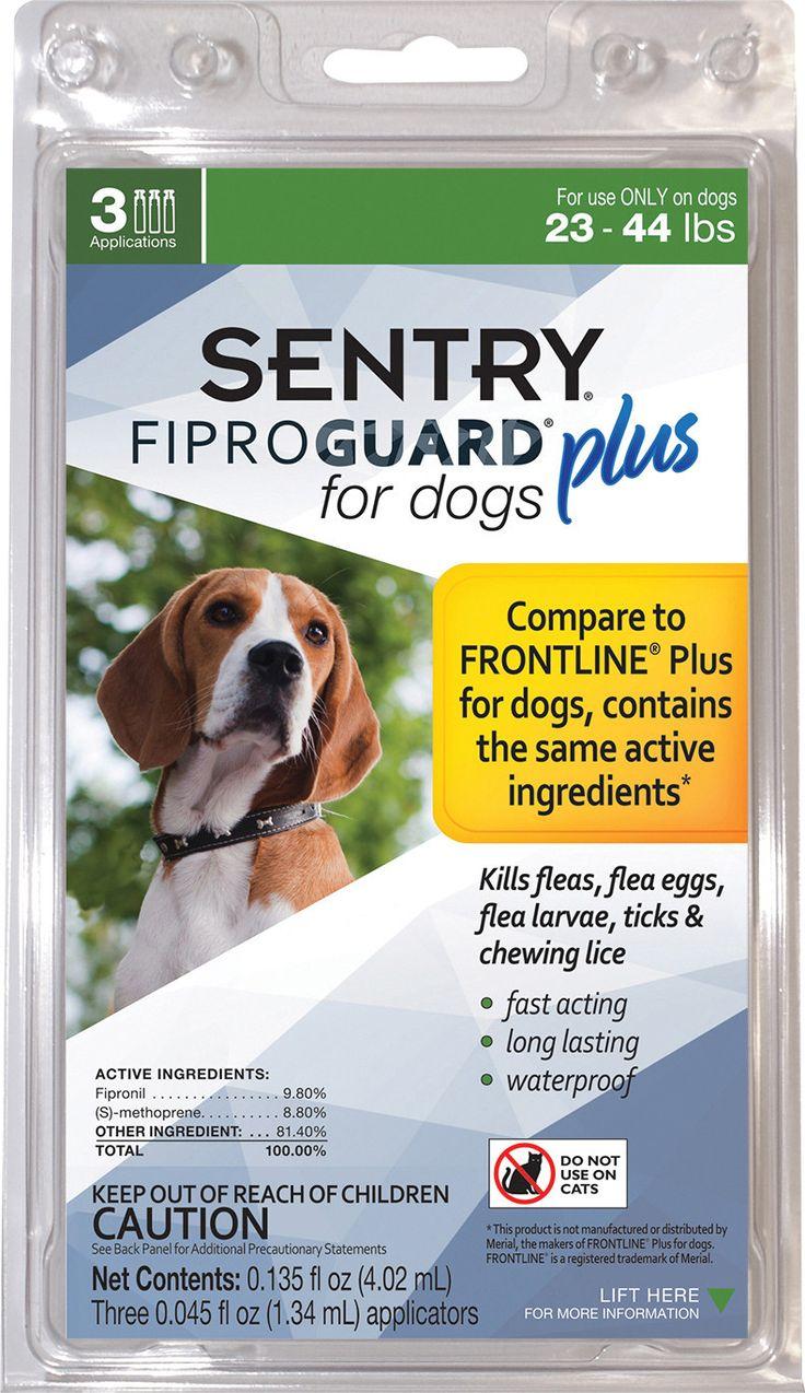 SENTRY FIPROGUARD PLUS DOG FLEA & TICK TREATMENT