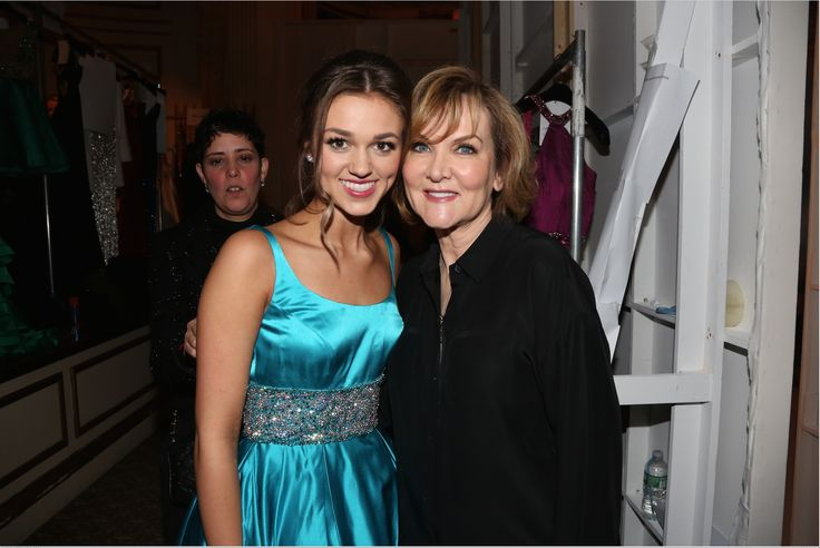 Sadie Robertson and Sherri Hill in New York.