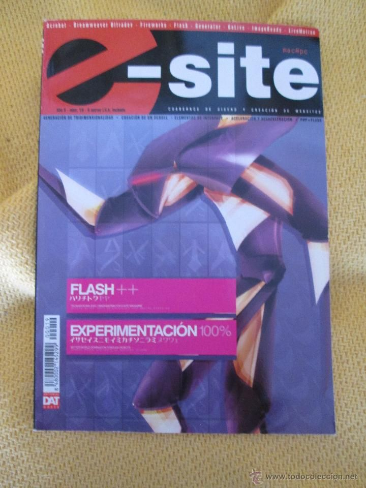 E-SITE, WEB FLASH ARTE EXPERIMENTCION Nº 19