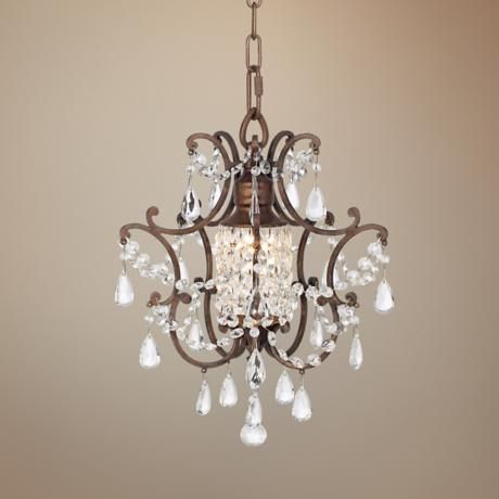 42 best Chandeliers images on Pinterest   Crystal chandeliers ...