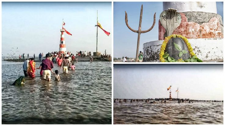 shivlinga under sea water http://www.vishwagujarat.com/gujarat/amazing-shiva-temple-near-bhav-nagar-arabian-sea/