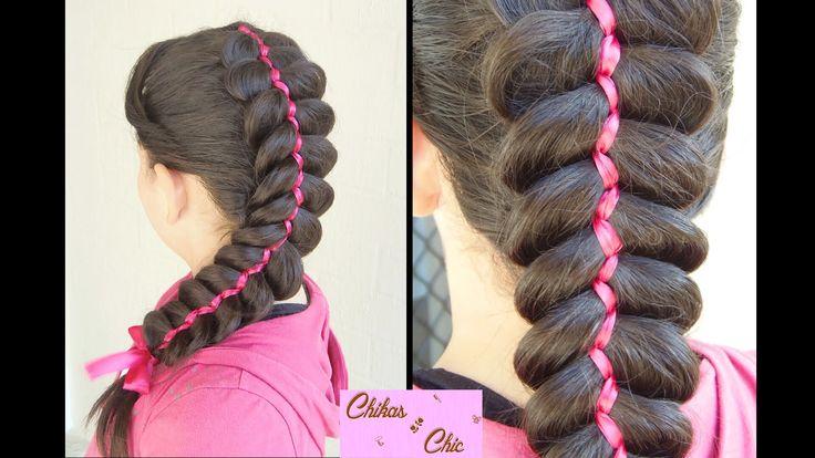 Classic 5 Strand Ribbon Dutch/French Braid | Chikas Chic