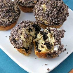 Oreo Cookies and Cream Muffins recipe