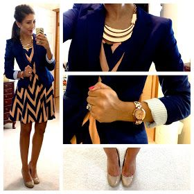 Hello, Gorgeous!: threads. Love this blog  her cute affordable work appropriate outfits