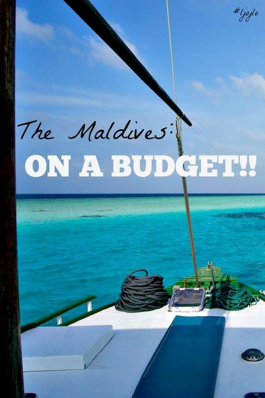 The Maldives: On A Budget - A collaboration with the Nomadic Boys featured on The Traveller's Guide By #ljojlo - http://www.hashtagljojlo.com/maldives/the-maldives-on-a-budget