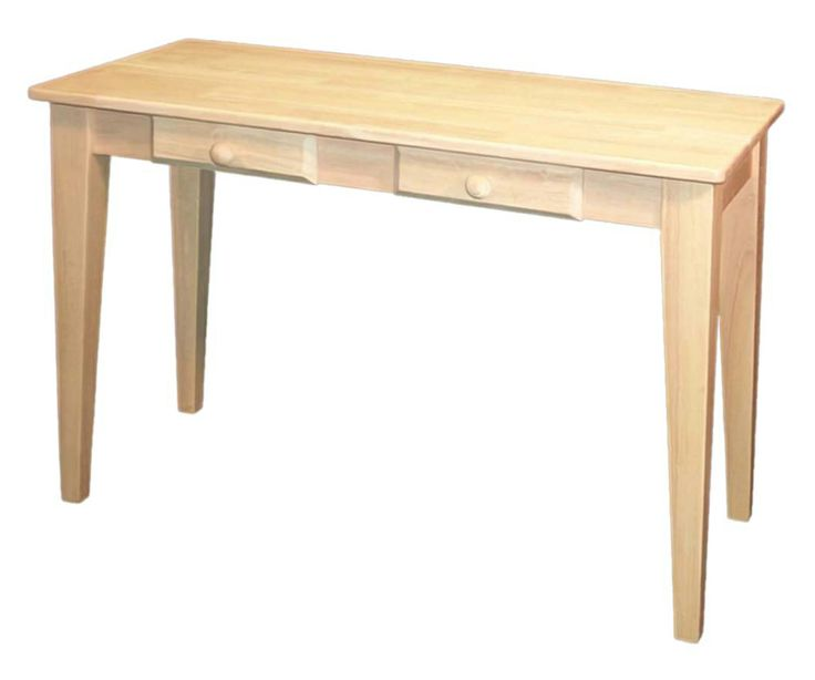 Maywood Shops Super Durable Hardwood Desk. At Wood Crafted