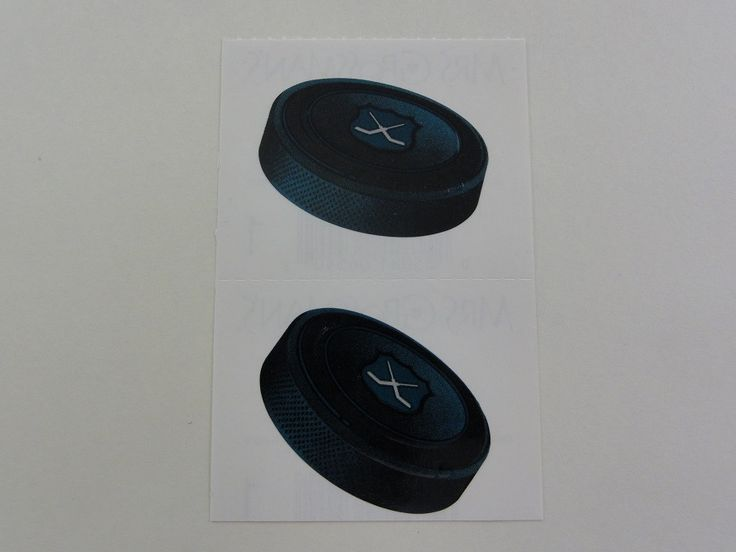 Mrs Grossman Hockey Puck Sticker Sheet / Module - Vintage & Collectible