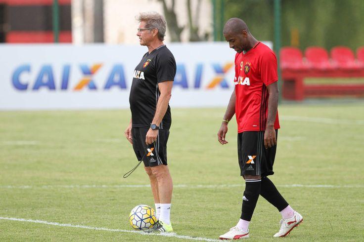 Oswaldo de Oliveira escolhe Edmilson para substituir Gabriel Xavier no Sport #globoesporte