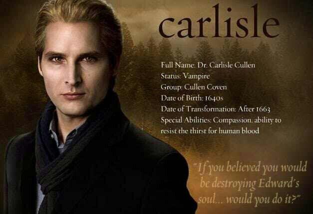 #TwilightSaga #NewMoon - Dr. Carlisle Cullen