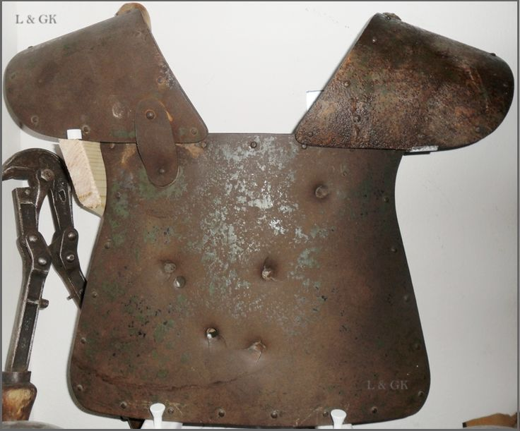 Armour of the Italian Arditi special forces of WWI.