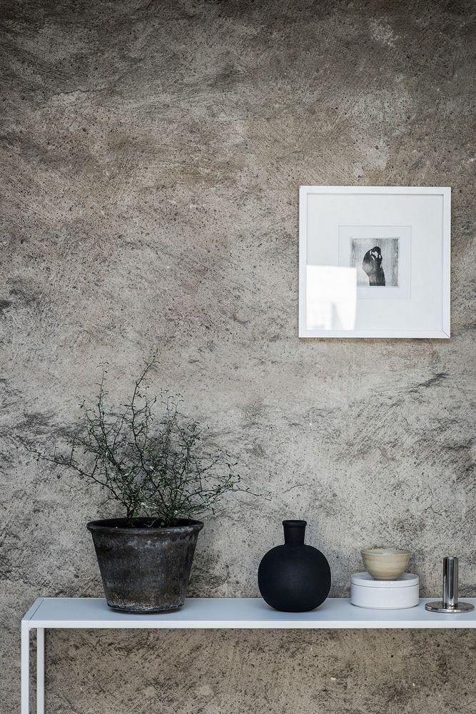 163 best Mur images on Pinterest Bricks, Cement walls and Concrete - enduit pour mur interieur