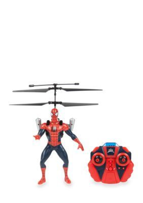 World Tech Toys Marvel Licensed Ultimate Spider-Man Vs The Sinister 6 Jetpack 2Ch Ir Rc Helicopter - Red - No Size