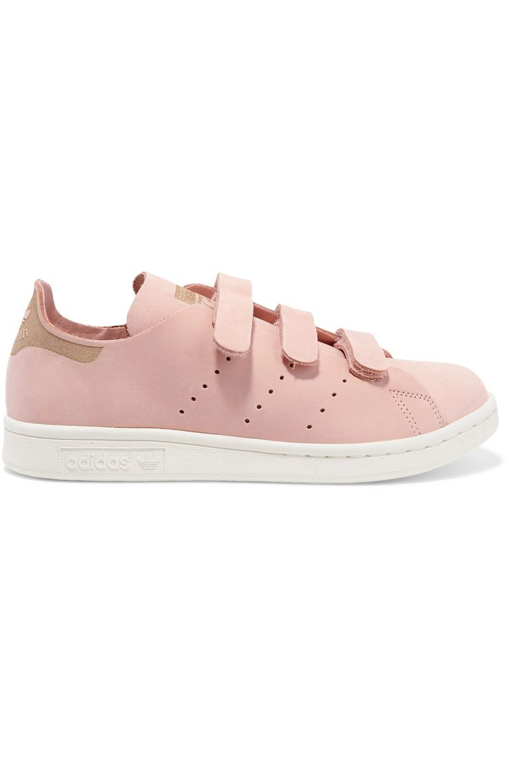 Adidas Originals | Stan Smith nubuck sneakers | NET-A-PORTER.COM