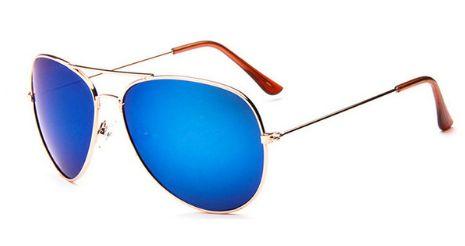 Pánské sluneční brýle - pilotky, modré