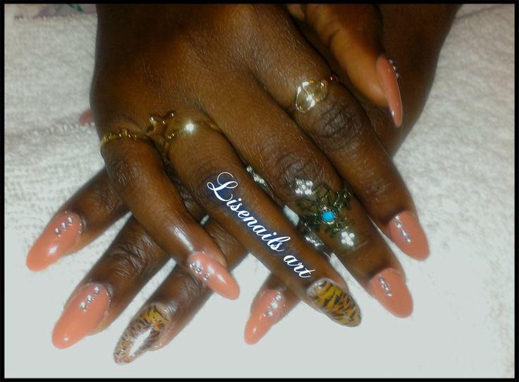 Nail art CND SHELLAC <3