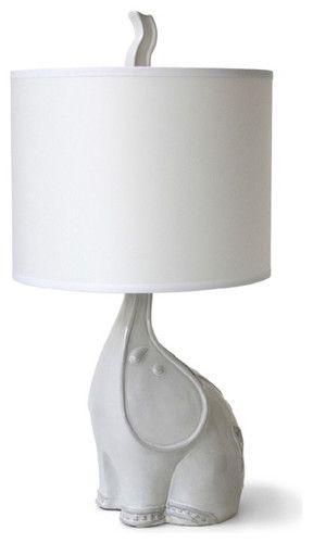 Jonathan Adler Utopia Elephant Lamp - contemporary - table lamps - - by Jonathan Adler