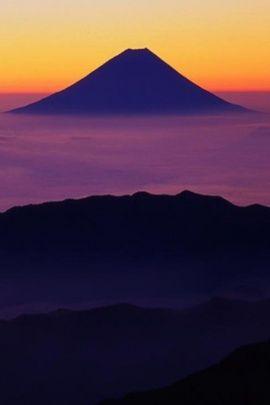 Mount Fuji in Japan iPhone Wallpapers, S... : ★【iPhoneまとめ】最新5対応!かっこいい、かわいい、日本、猫な壁紙、待ち受... - NAVER まとめ