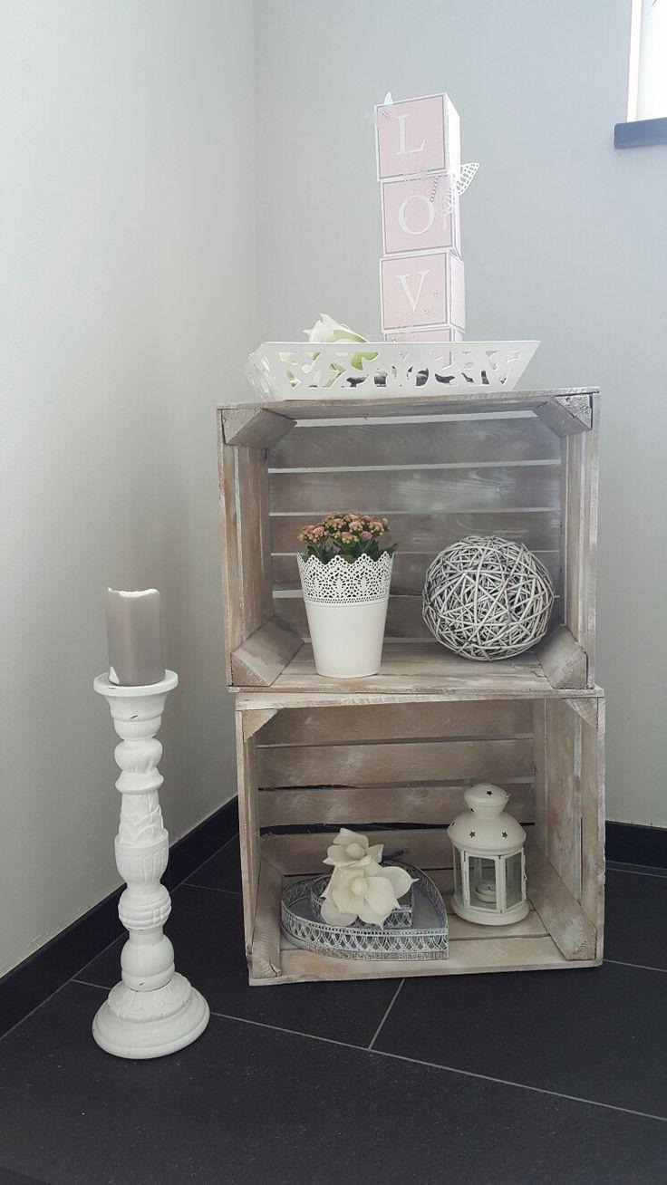 Dekoration Im Treppenhaus Landhausstil In Rosa Und Wei Hnliche Projekte Und Ideen Wie Im Bild Flur