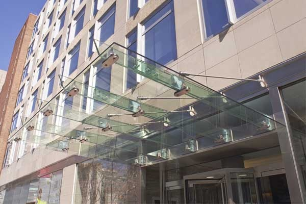 Entry Glass Canopy Courtesy Of Wagner Companies