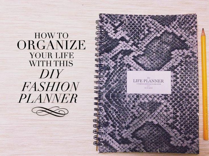 DIY: come organizzare la tua vita con la tua agenda personale   how to organize your life with your personal fashion snake print planner   Pretty In Decadence