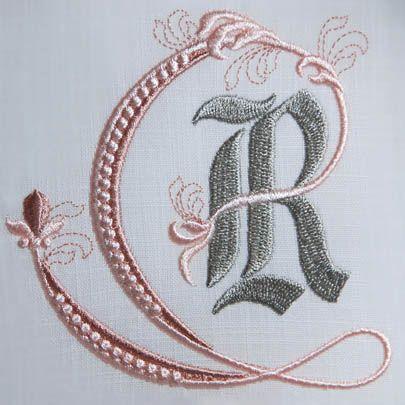 Fleur de Lis Alphabet- R: Sonia Showalter: