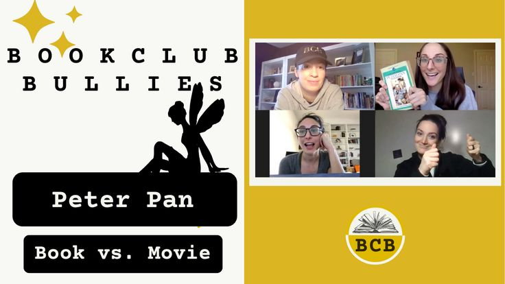 Spoiler Alerts*** We're your virtual bookclub. We discuss books, obviously, but so much more too. As sisters and cousins, niceties aren't super high on our priority list. This time we're focusing on Peter Pan book vs movie! #peterpan #disney #bookclub #review #readersofyt #bookvsmovie