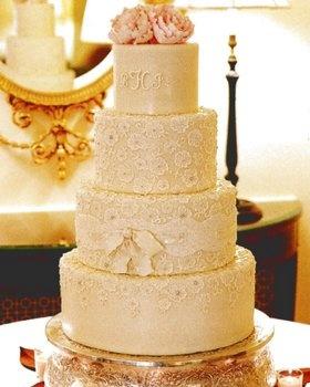 Wedding, Cake, White