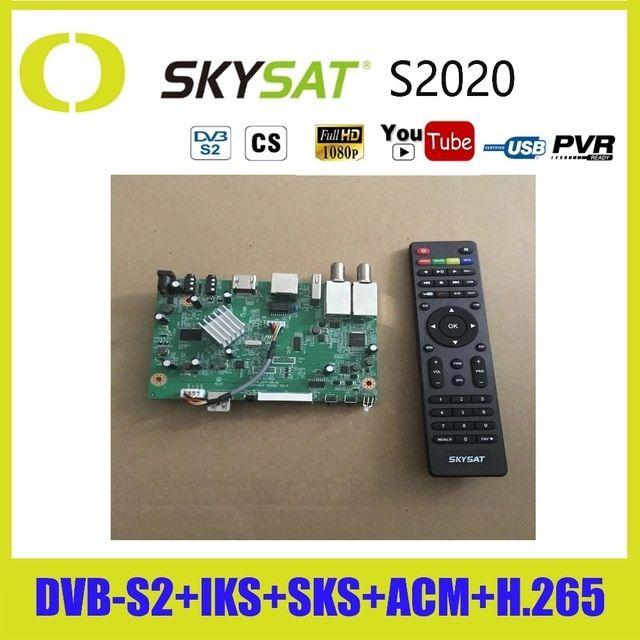 Genuine]SKYSAT S2020 Mainboard Twin Tuner Remote Controllar