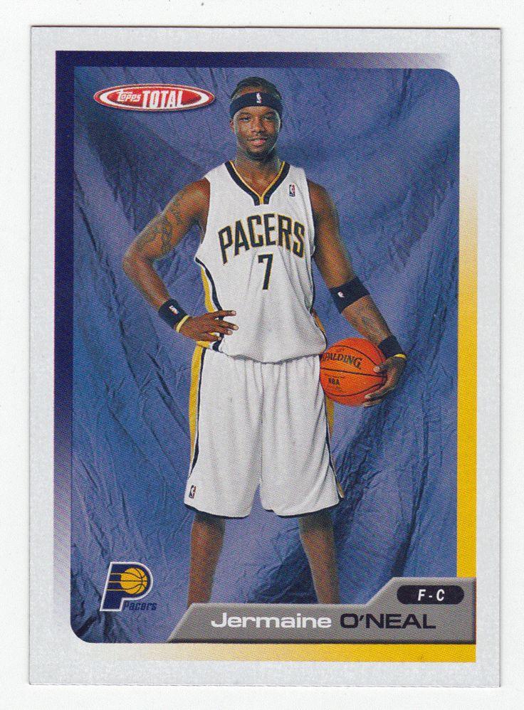 Jermaine O'Neal # 312 - 2005-06 Topps Total Basketball