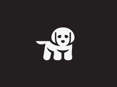 Puppy Illustrasyon Dog Logo Design Logo Design Logos