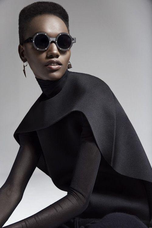 FEATURE: Tanzanian Model Herieth Paul Shines in New Fashion Magazine Photo Series by Malina Corpadean - AFROPUNK