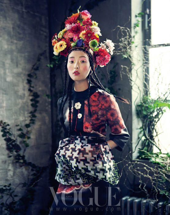 Room With A Garden, Vogue Korea February 2013