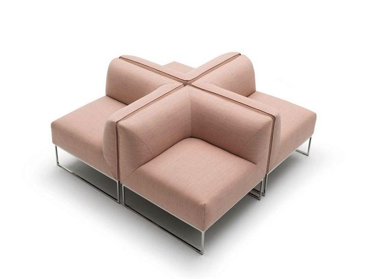 Sectional Fabric Sofa MELL | Sectional Sofa   COR Sitzmöbel Helmut Lübke