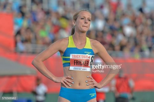 McKayla Fricker (USA) at the start to Women 800 M, at Track Town... #kayla: McKayla Fricker (USA) at the start to Women 800 M, at… #kayla