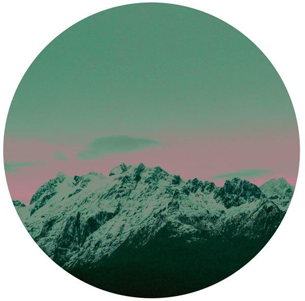 mountain patagonia #circles by pato blanche, via Behance | https://www.patoblanche.tumblr.com