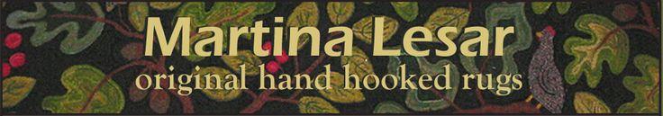 Martina Lesar - Original Hand Hooked Rugs