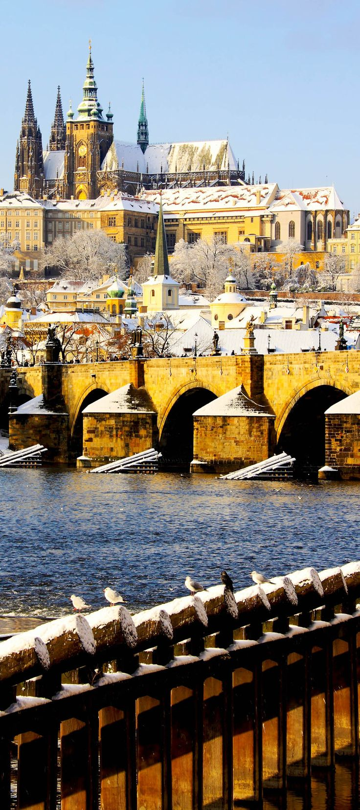 Romantic View of Gothic Castle with the Famous Charles Bridge in Prague, Czech Republic   22 Reasons why Czech Republic must be in the Top of your Bucket List°°