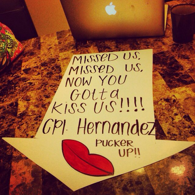 1000+ Images About Welcome Home Signs & Ideas For Military