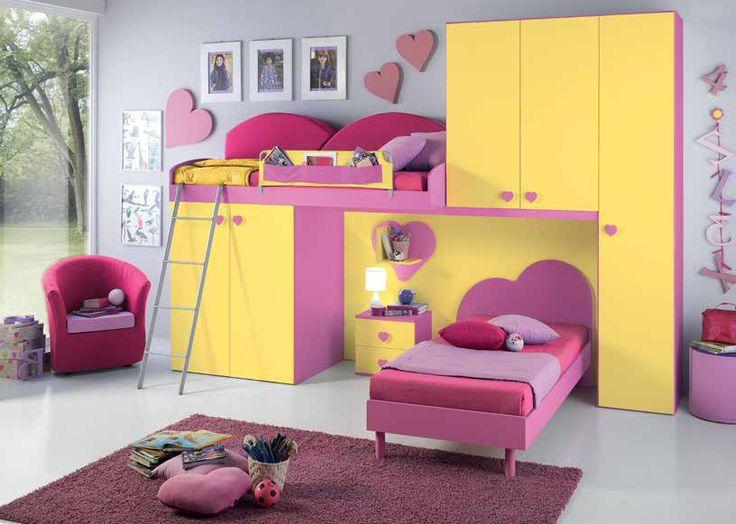 Camerette singole ~ Best camerette images bedroom kids kid bedrooms