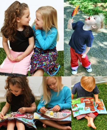 Bizzy Beeginnerz LLC makes interactive children's clothing right here in the USA!