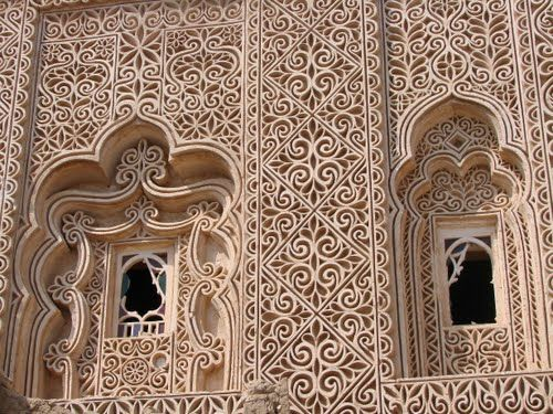 A house on Farasan Island-Saudi Arabia. I want to run my hands over the intricate handwork. Such beauty.